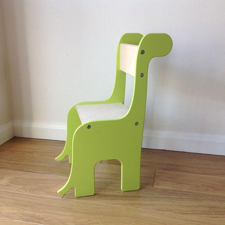 Brontosaurus Dinosaur Handmade Wooden Children S Chair