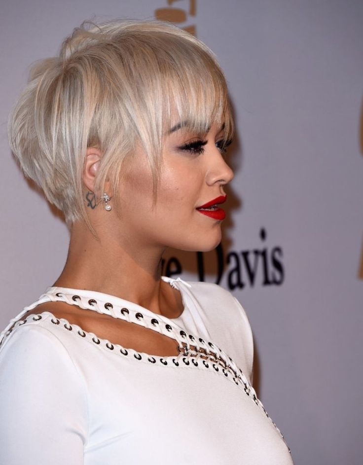 Rita Ora attends the Pre-GRAMMY Gala and Salute To Industry Icons honoring Martin Bandier on February 7, 2015 in Los Angeles, California.
