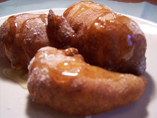 """Fried Banana Fritters. We tried these for an Indonesian meal (Pisang Goreng), and they were SO good!  Will definitely make again as an """"ordinary"""" dessert!"""