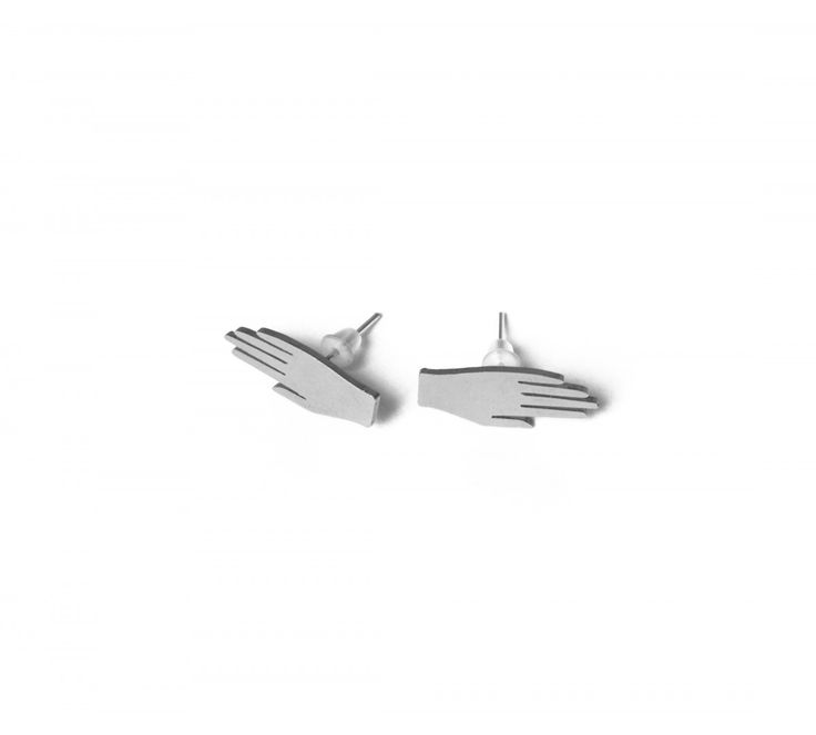 KOPI hand earrings