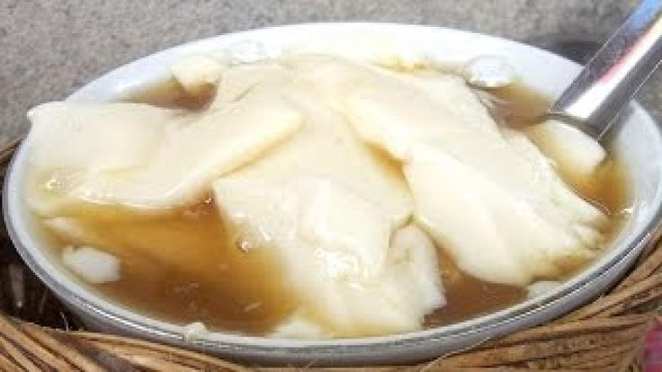 Wedang KEMBANG TAHU - Soybean Ginger - Indonesian Food & Beverage - Wisata Kuliner