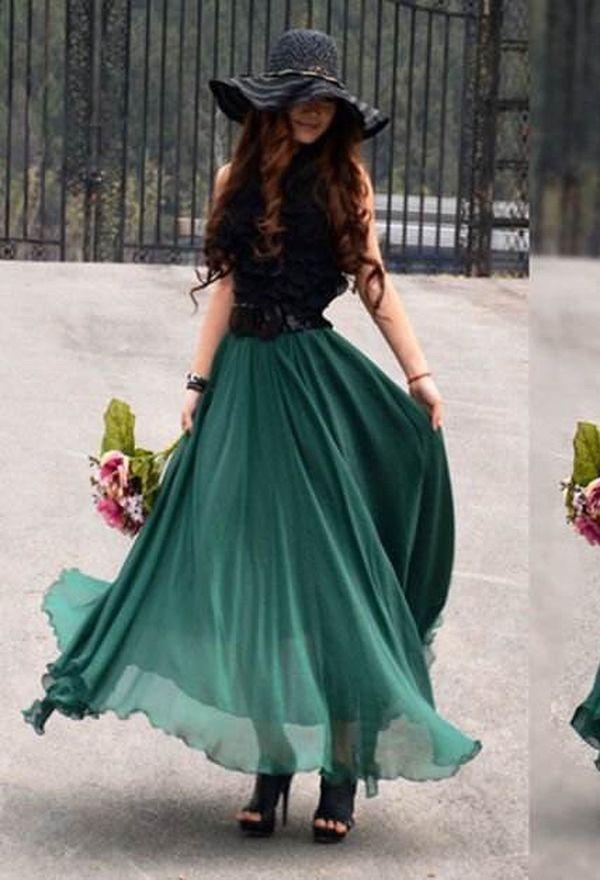 Faldas largas de moda - Colección 2016