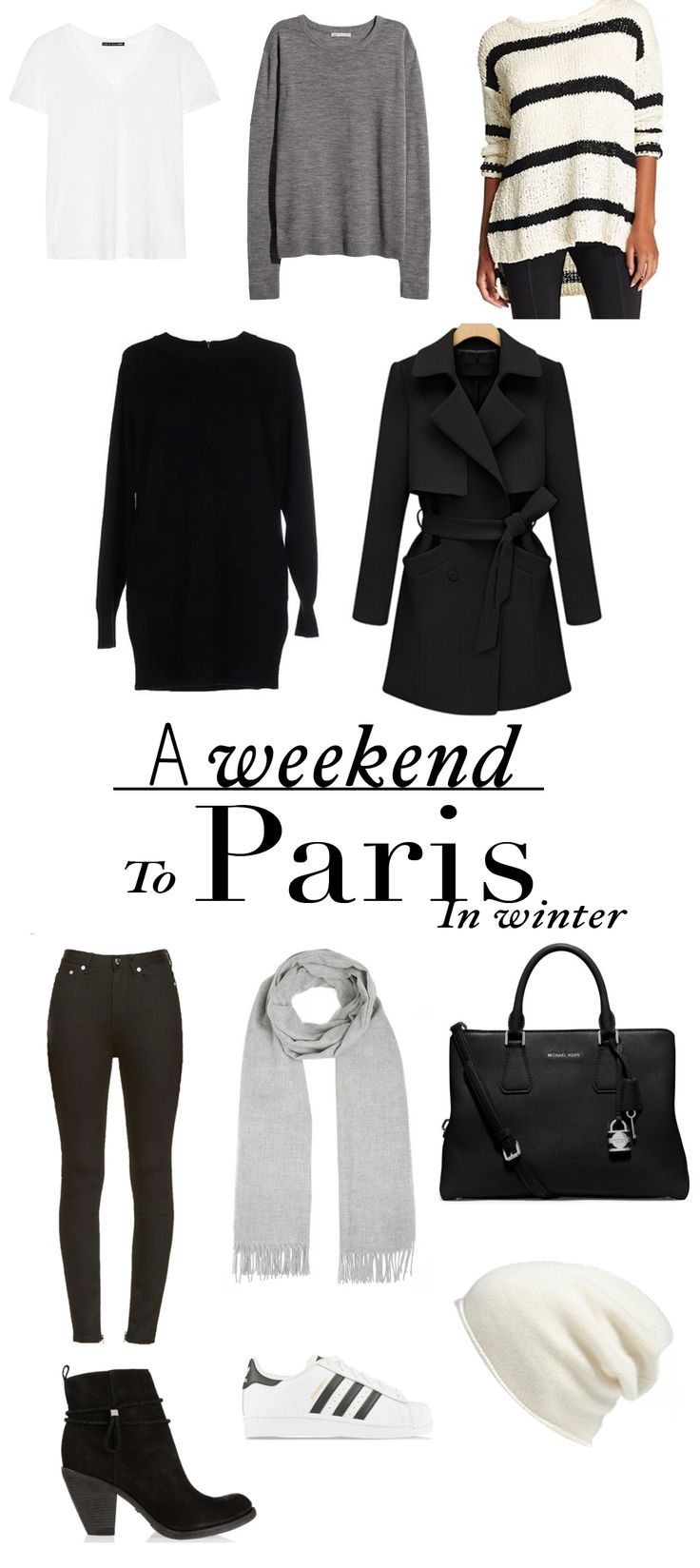 What To Pack For A Weekend In Paris – Winter Edition