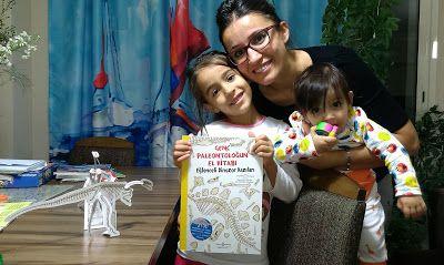 çocuk kitapları, aktiviteler, oyunlar, hayaller...: GENÇ PALEONTOLOĞUN EL KİTABI
