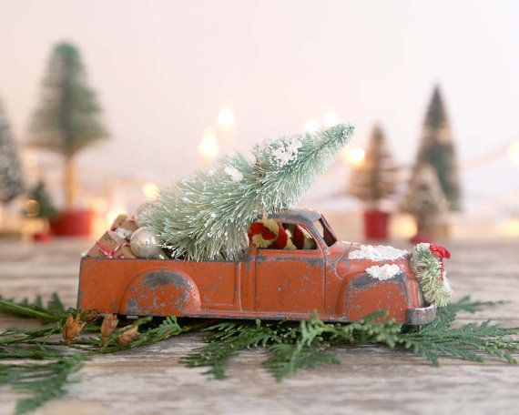 753 best toy cars and trucks with christmas trees images on