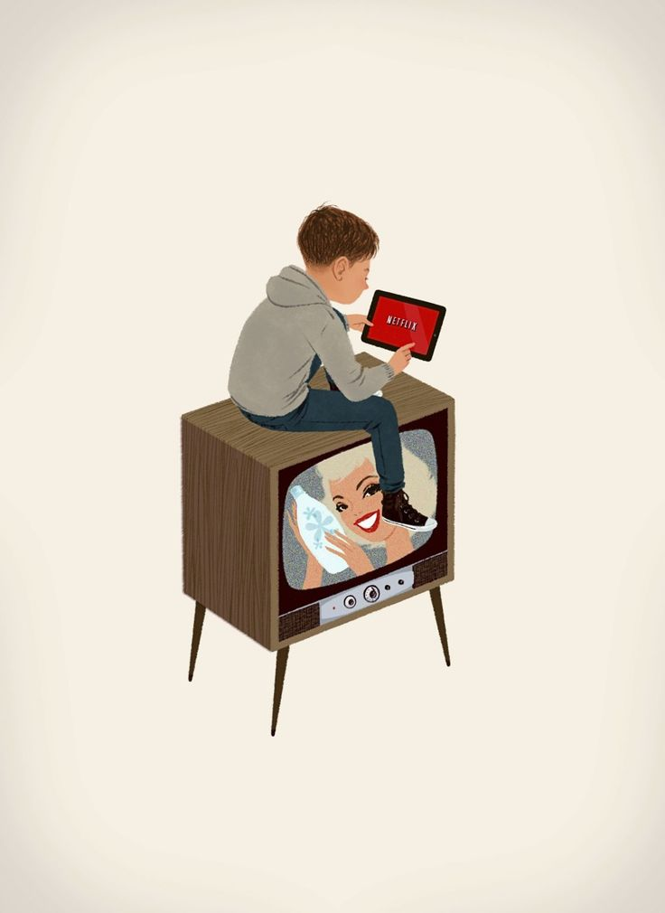 Outside the Box. Netflix and the future of television.