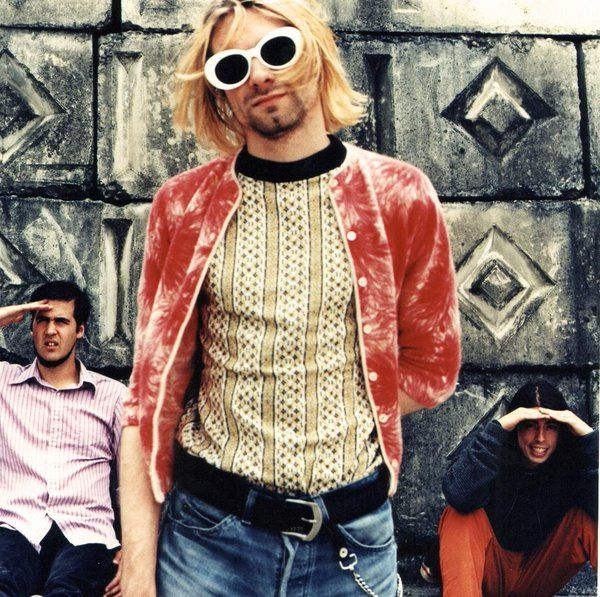 Nirvana, 1993. Photograph by Anton Corbijn.