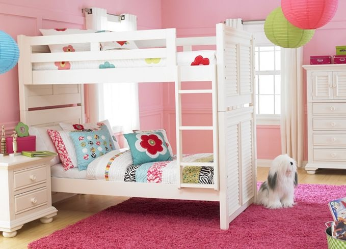 Bedroom Furniture, Cottage Retreat II Bunk Bed with Trundle ...