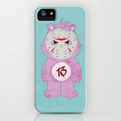 Friday the 13th iPhone & iPod Case by The Ghost and Robot - $35.00