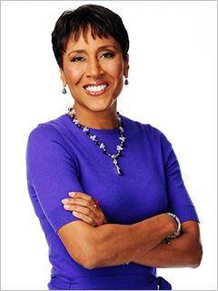 Robin Roberts, co-anchor of 'Good Morning America,' is undergoing a bone marrow transplant Thursday. She thanked fans for their support via a video clip aired during the show's broadcast. (via Entertainment Weekly; photo via ABC)