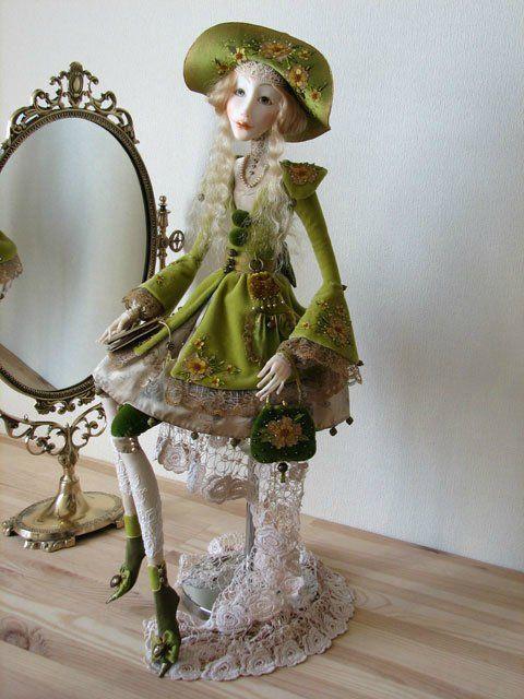 куклы из полимерной глины - Самое интересное в блогах