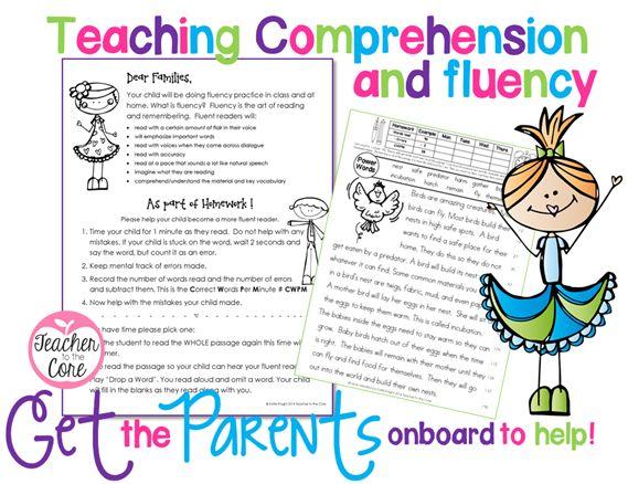 48 best images about fluency on pinterest comprehension for Reading blueprints 101
