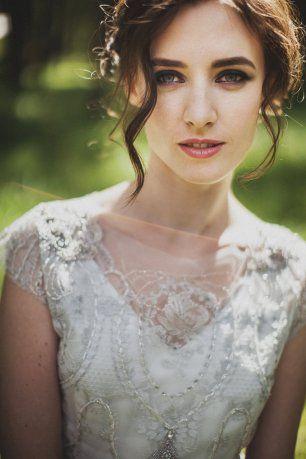 Свадебный макияж с акцентом на глазах