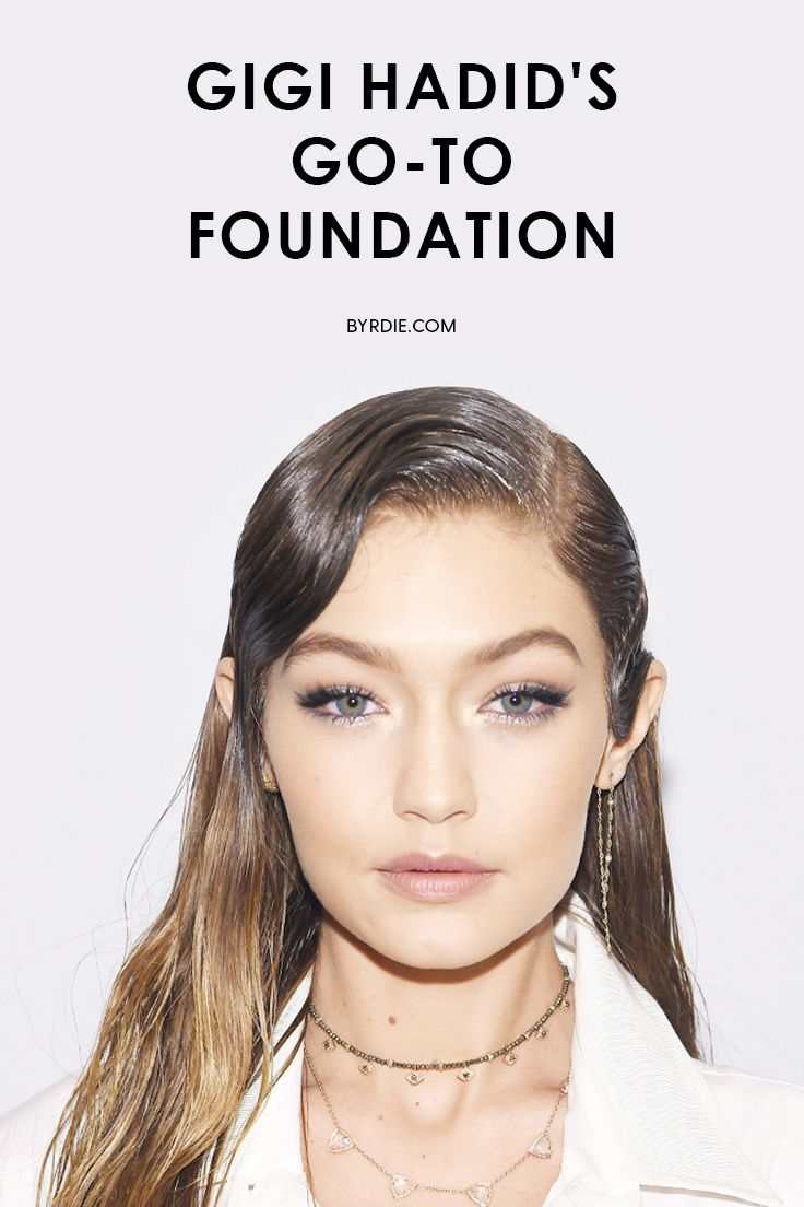 Gigi Hadid's favorite foundation
