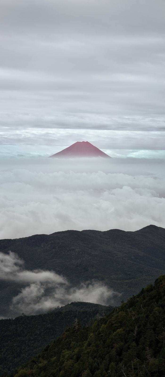 Portofolio Fotografi Pemandangan - Mt. Fuji from Mt. Kokushigatake, Japan | Yuga Kurita...  #PHOTOGRAPHICSCENERY