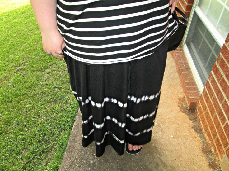 Unique Geek: Plus Size OOTD: Black & White