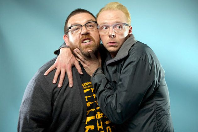 SIMON PEGG AND NICK FROST INTERVIEW: GROWING UP, GETTING OLD AND 'THE WORLD'S END'