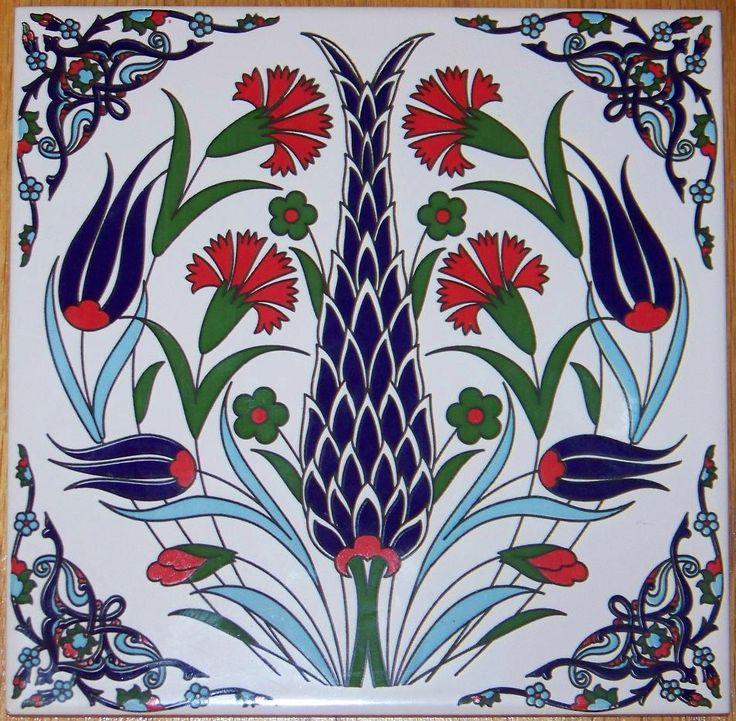 turkish tile art - Google Search