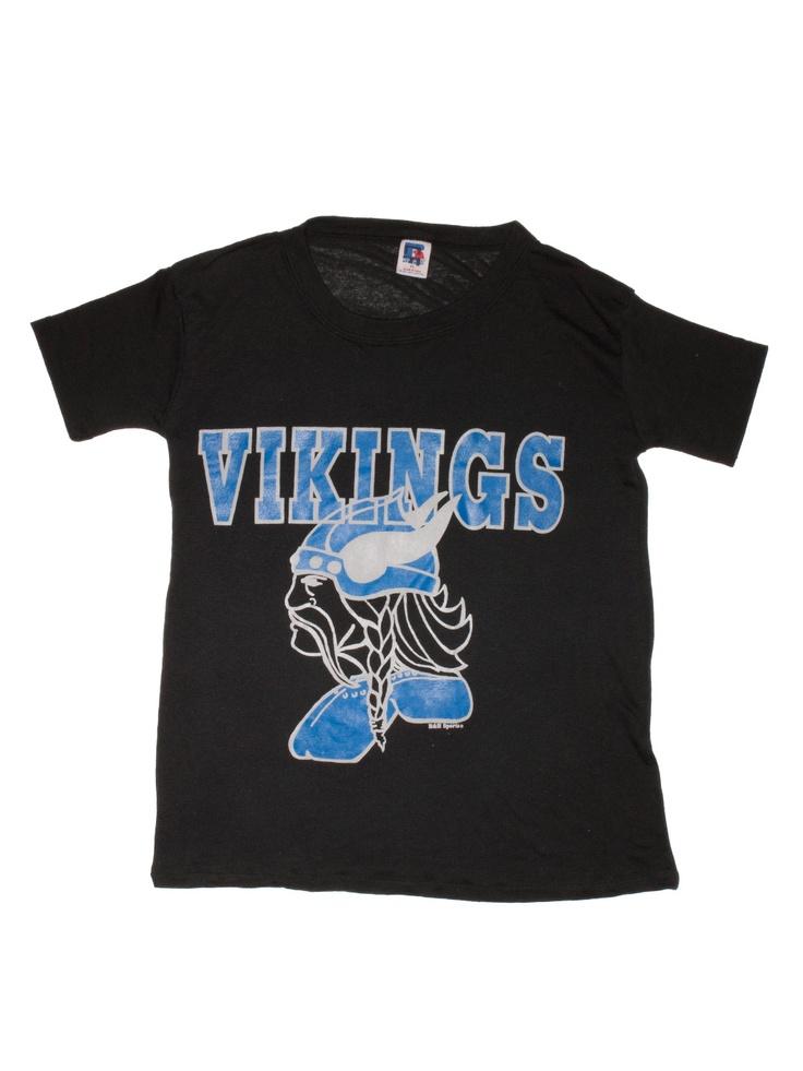 vintage minnesota vikings threadbare t shirt new