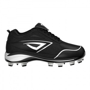 Mens 3N2 Rally PM Baseball Cleats Black Suede - ONLY $84.95