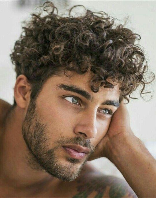 Curly-hair gay yummy guys img