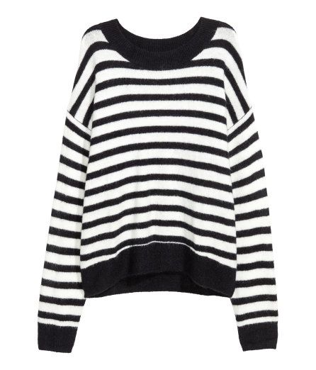 ef46ca0e3b57 Check this out! Wide-cut sweater in a soft