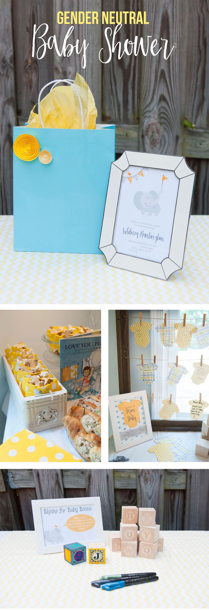 Bubbly Design Co: Details From The Gender Neutral Baby Shower We Hosted In