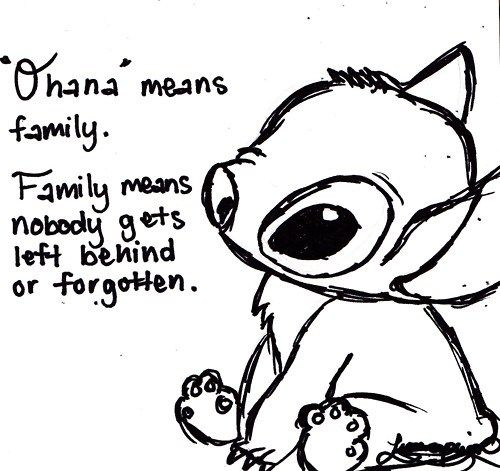 Lilo and Stitch quot Ohana quot means