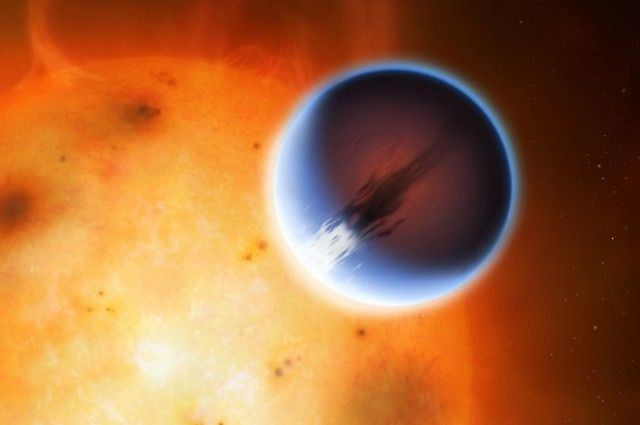 Astronomers Detects Wind Speeds Of 5,400mph On Distant Exoplanet | IFLScience