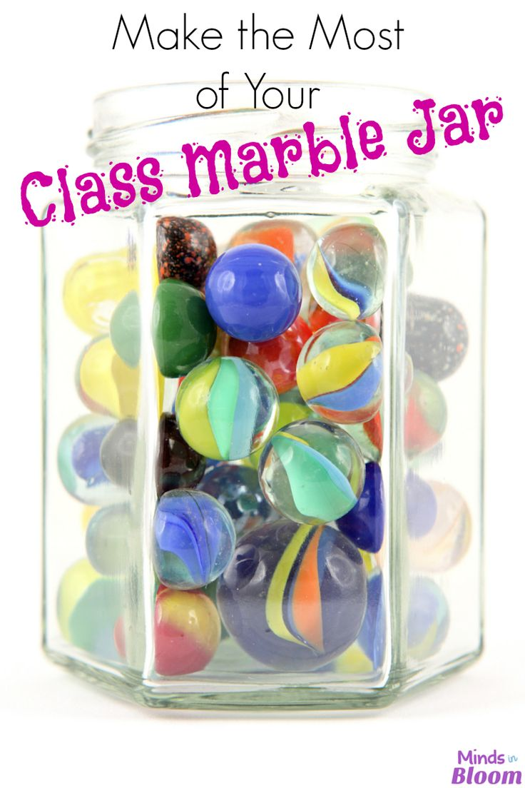 Make the Most of Your Class Marble Jar