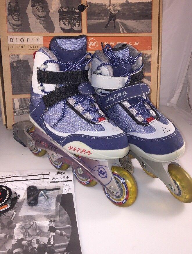 ULTRA WHEELS XT3L Bio Fit In-Line Roller Skates Women's Size 7 box handbook key    eBay