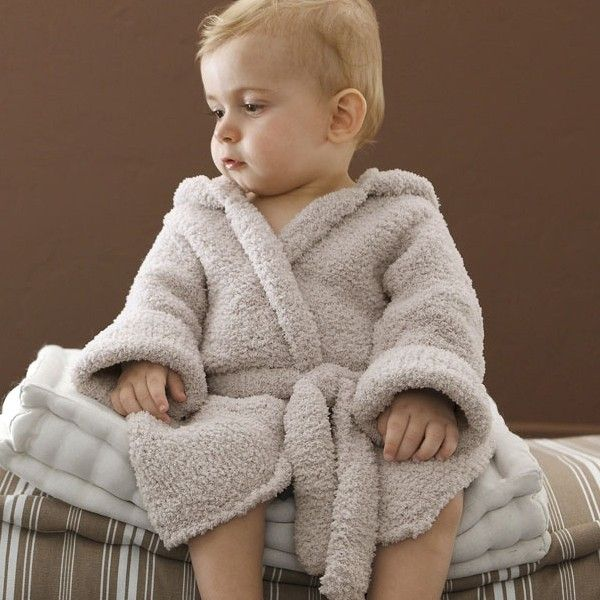 Free Knitting Pattern Phil Douce Baby Bathrobe A Cute