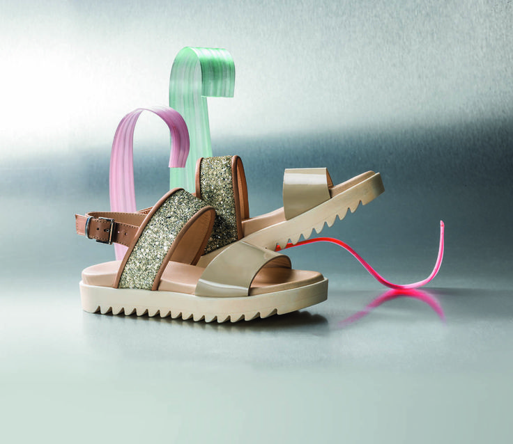 Some of the #sandals from the S/S 2015 collection by #Florens modern and ergonomic shapes like the philosophy of the brand #shoes #kids #girls #madeinItaly