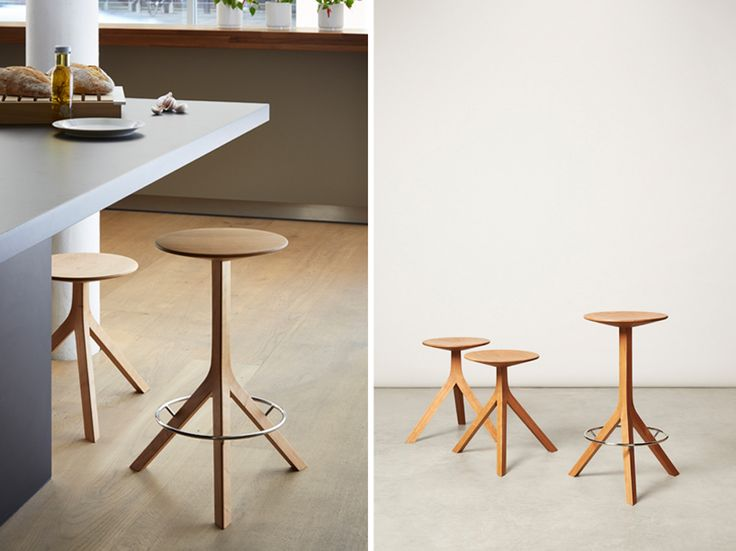 [Kitchen Stool] The American Hardwood Export Council is taking part in London Design Festival (LDF) 2015 with 'Kitchen Stool' designed by Felix de Pass in collaboration with Alison Brooks. http://www.laurasantagati.it