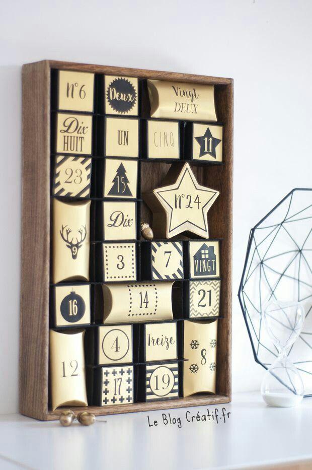 les 32 meilleures images du tableau id e calendrier de l avant faire chez soi sur pinterest. Black Bedroom Furniture Sets. Home Design Ideas