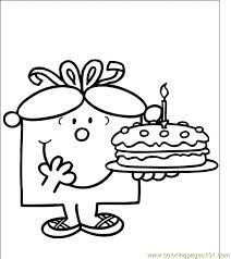 Printable Mr Men Little Miss colouring pages - Via Google Search Great as a Mr Men Little Miss party bag favor filler !