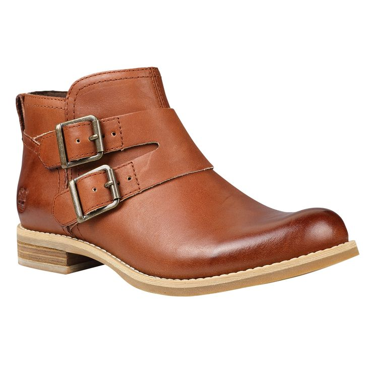 Women's Earthkeepers® Savin Hill Double Buckle Ankle Boot #2days1bag #Timberland