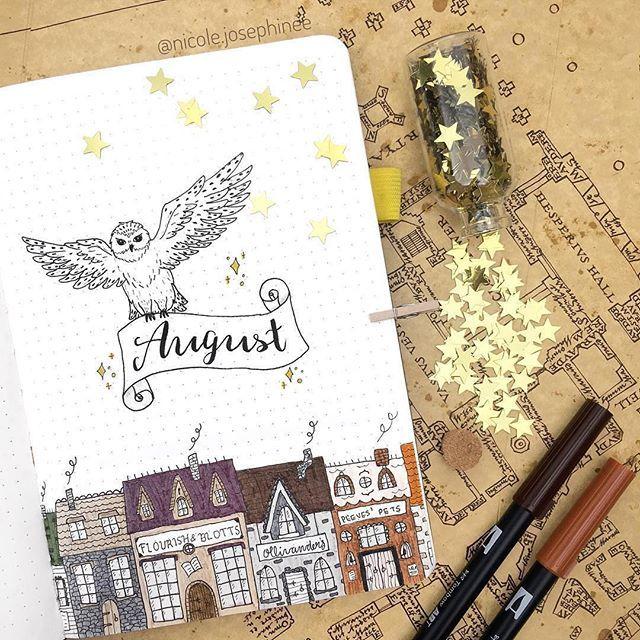 Harry Potter Harrys Notizbuch und Stift