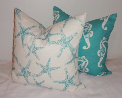 64 best Beach House images on Pinterest : 6e2ce584708dbbfe0b7ba5a0151f9ae0 decorative pillow covers seahorses from www.pinterest.com size 500 x 399 jpeg 24kB