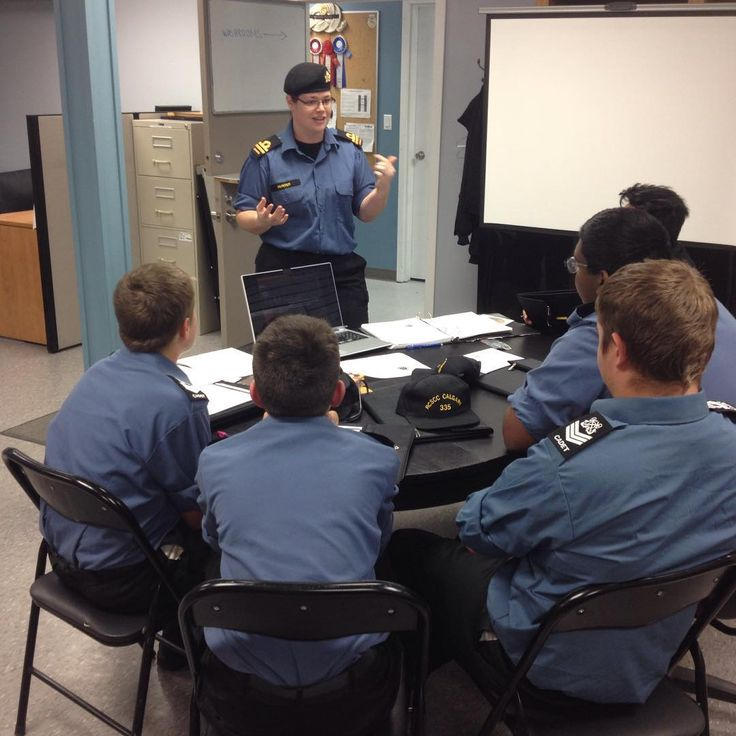 Phase IV cadets begin their Positive Social Relations for Youth training program at RCSCC CALGARY.