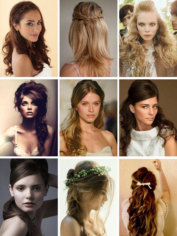 Pretty hair styles.