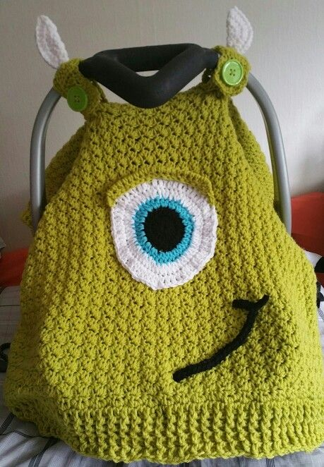 Monsters INC Inspired Carseat Canopy