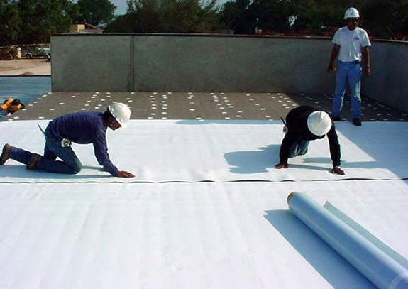 Flat Roof Repair With Roofers  Your needs can be served through our skills and experience long after the roof has been installed by us or by other roof repair contractors.  Extensive roof repairs are designed to further the life expectancy of your roof. We have highly trained roof technicians that are well versed in all low slope as well as steep slope roofing repairs. Once our highly trained technicians have performed a roof inspection, they are well versed to repair all low slope .