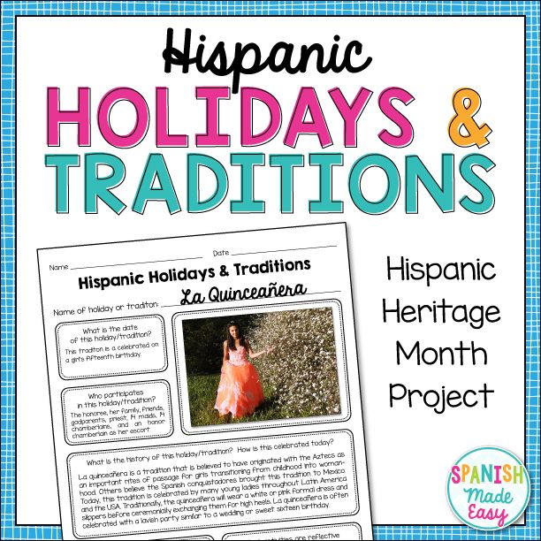 the importance of hispanic heritage Hispanic heritage month  some people believe that hispanic, with its  contains a well-written article about the history and importance of hispanic heritage.