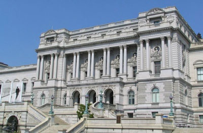 Picture of the Library of Congress. Favorite experience. A true treasure in itself and all it houses.