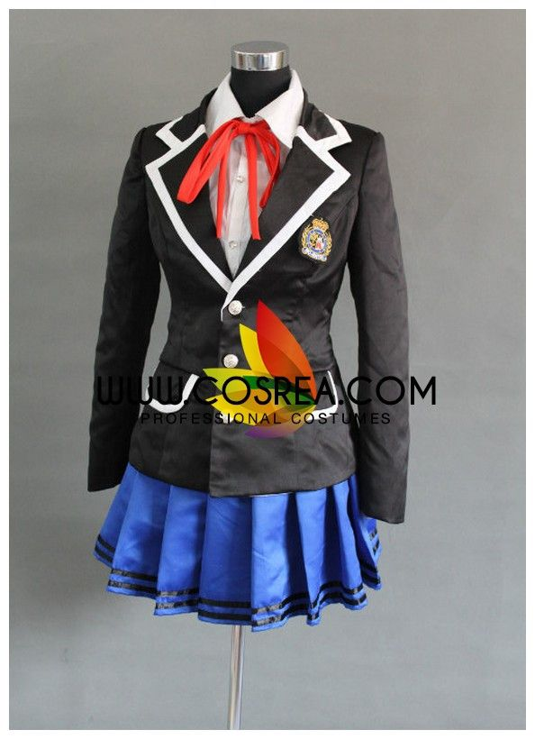 Costume Detail Date A Live Academy Uniform Cosplay Costume Includes - Inner Top, Neck Tie, Jacket, Skirt Please see individual tabs for information including: -available sizes for this costume -availa