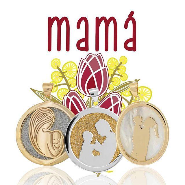 Conoce la Colección #Mamá. Inspirada en los momentos más dulces de la maternidad y el irrompible vínculo madre-hijo. #JoyasConAlma #Joyas #Colgante