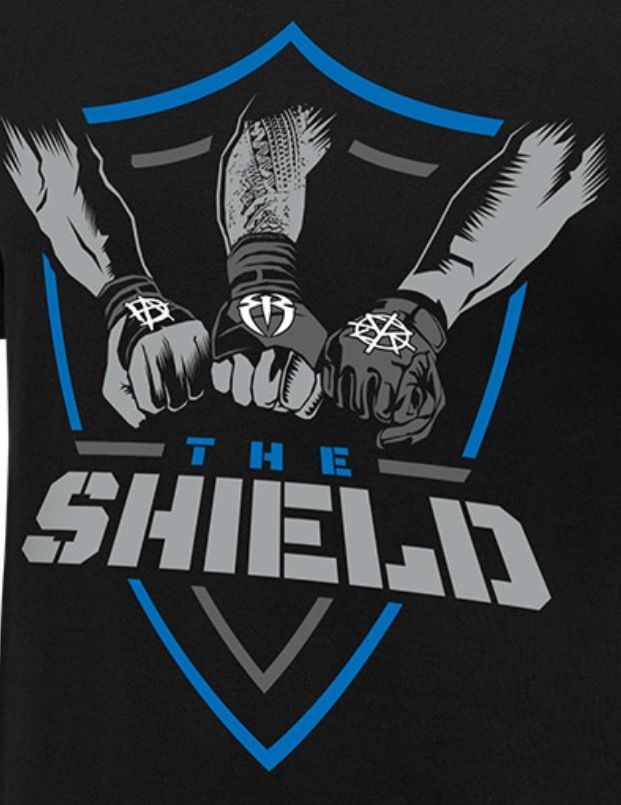 The Shield (Dean Ambrose,Roman Reigns and Seth Rollins) logo 2