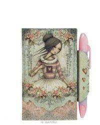 Magnetic Notebook and Pen - The Secret, Santoro's Mirabelle