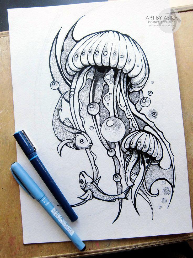 25 Best Ideas About Jellyfish Art On Pinterest